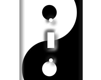 Yin Yang  Decorative Light Switch Cover - Decorative Light Switch Plate Cover