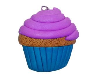 Blueberry Cupcake Pendant