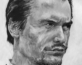 A3 poster/print of my painting of Mike Patton