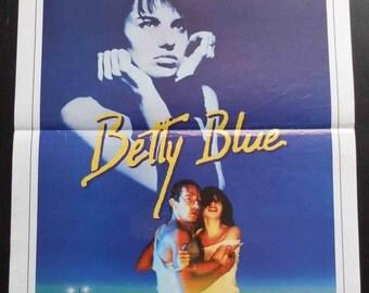 "Poster original movie BETTY BLUE. ""37"