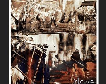 Abstract landscape,digital art. Imagination theme just imagine