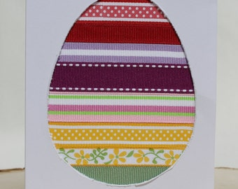 Easter Egg Holiday Card