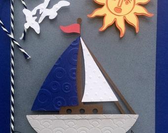 Smooth Sailing 5x7 Greeting Card