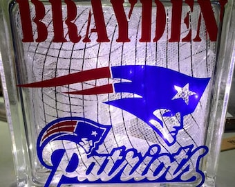New England Patriots Light