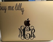 Lilly Pulitzer Vinyl Decal, Buy Me Lilly Decal, Lilly Pulitzer Sticker, Vinyl Decal, Computer Vinyl Decal, Car Decal, Yeti Decal