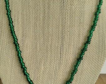 Men's 20in Nail Cross Necklace