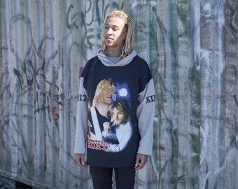Kurt Cobain Hoodie Vintage Nirvana Shirt