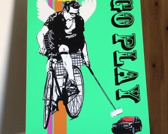 Go Play - Fixie - Digital Print Artwork
