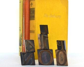 vintage wooden letterpress printing blocks typography printing blocks wooden letters