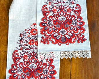 Ukrainian Traditional Embroidered Rushnyk