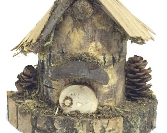 FAIRY COTTAGE:   Mini Fairy House