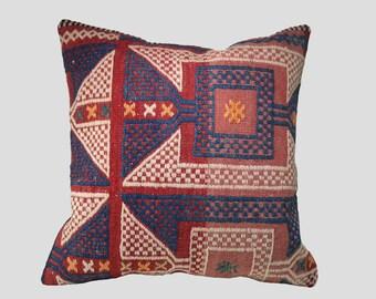 "20""x20"" Decorative kilim pillow cover Kilim cushion cover Pillowcase"