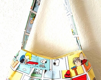 Peanuts Pleated Purse