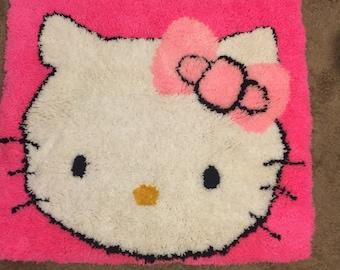 HelloKitty Knitted Rug/Decor