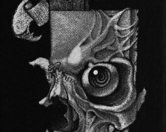 Knifemare silkscreen print