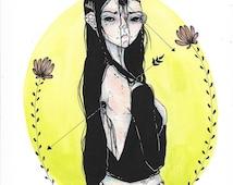 Original Illustration - Lima