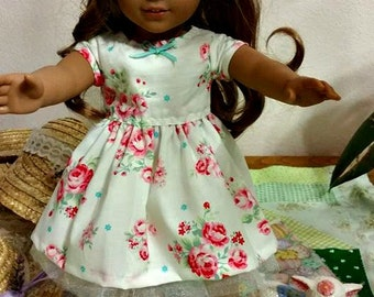 SPRING Dress fits American Girl Doll