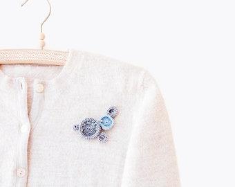 Bijou Crochet Brooch. Bijou Trending Jewelry Bijou Crochet Brooch. Crochet Jewelry