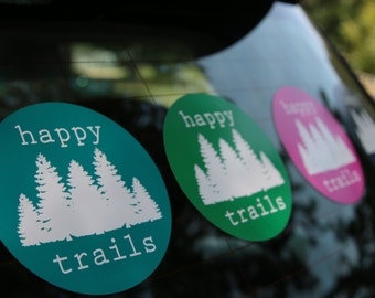 Happy Trails Sticker