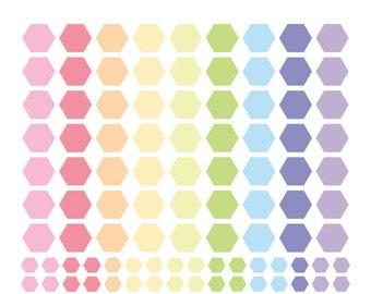 Cute Printable Hexagon Tags