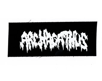 Archagathus Grindcore Band Patch