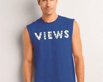 Drake views tank top, muscle tee, Drake views, Views shirt, Views drake, views from the six