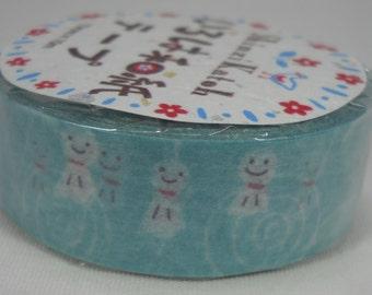 2016 Seal-do Iroha-Washi Masking Tape 15mm x 10m Sunshine Doll Shinzi Katoh ks-wt-10032