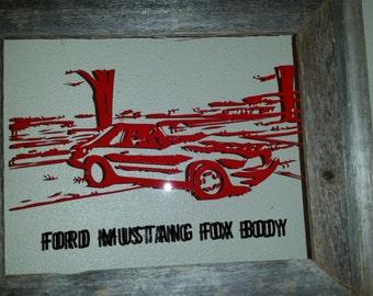 Auto Art - Custom Made using YOUR photo!