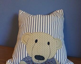 Teddy Bear cushion 'old bear'