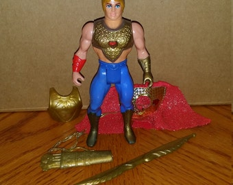 Vintage 1980s Masters of the Universe /Princess of Power Bow figure Complete!  #2
