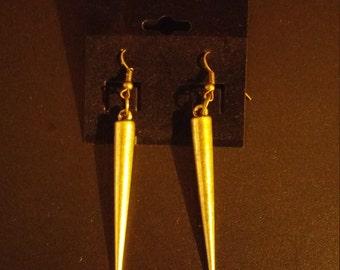 Spike Bronze Earrings