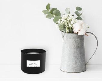 Thyme + Olive Leaf Candle (385 g)