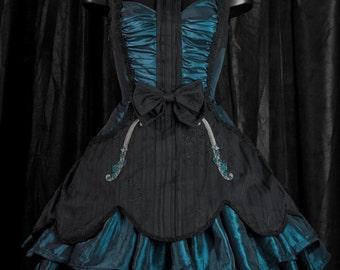 "Dress embroidered violin ""violin princess"""