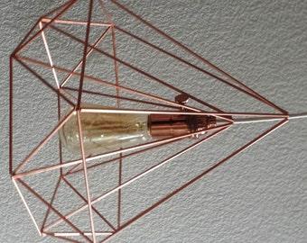 Copper Himmeli Light