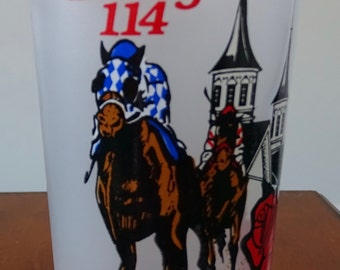 Kentucky Derby 114 Commemmorative Glass