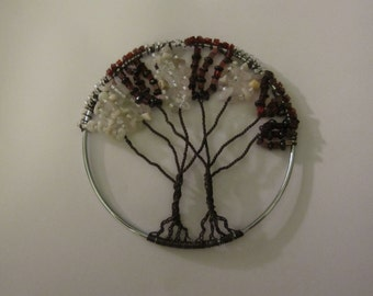 Maroon and White tree of life