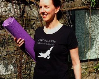 Yoga T-Shirt - Downward Dog (Adho Mukha Svanasana)