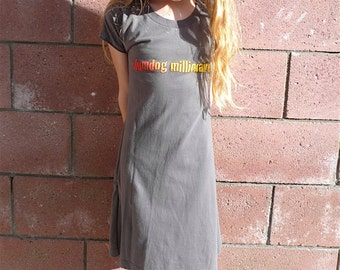 Slumdog Millionaire girls T-shirt dress