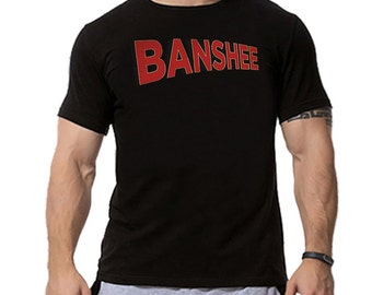 Banshee TV Series Show Logo Inspired T-shirt. Male and Female Apparel