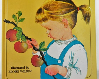 My Big Book of the Outdoors, Jane Werner Watson, Eloise Wilkin, Vintage Children's Book, 80s Children's Book, Children's Nature Book