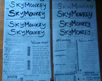 SkyMonkey Back Issues