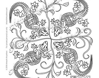 lizards turtles and frogs floating turtle by adultcoloringbooksaa. Black Bedroom Furniture Sets. Home Design Ideas