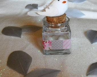 Pot à dragées White Dove