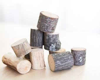 Natural Wood Baby Blocks, Wooden Montessori Baby Blocks