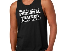 Gym Personal Trainer Tank Top Workout Gift For Personal Trainer