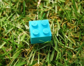 Light Blue Brick 2x2