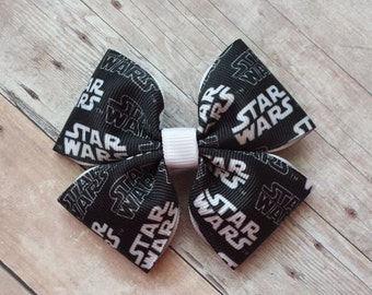 Girls Star Wars hair bow