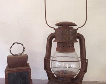 Old lamp storm / Royalux oil lamp