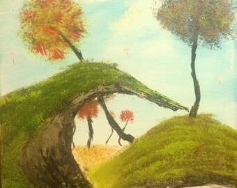 "Fantasy Landscape ""Seuss Spruce"""