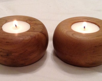 Tealight Candle Holder Pair